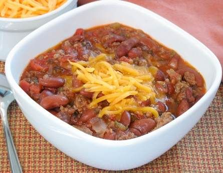 My Wendy's Chili (copycat recipe)-1/2 cup servings