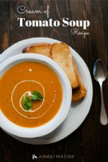 Natasha's Cream of Tomato Soup with Chicken