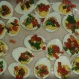 No Mayo Mexican Inspired Deviled Eggs
