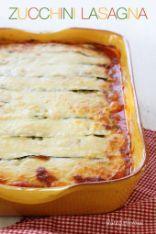 Vegetarian No-noodles Zucchini Lasagna