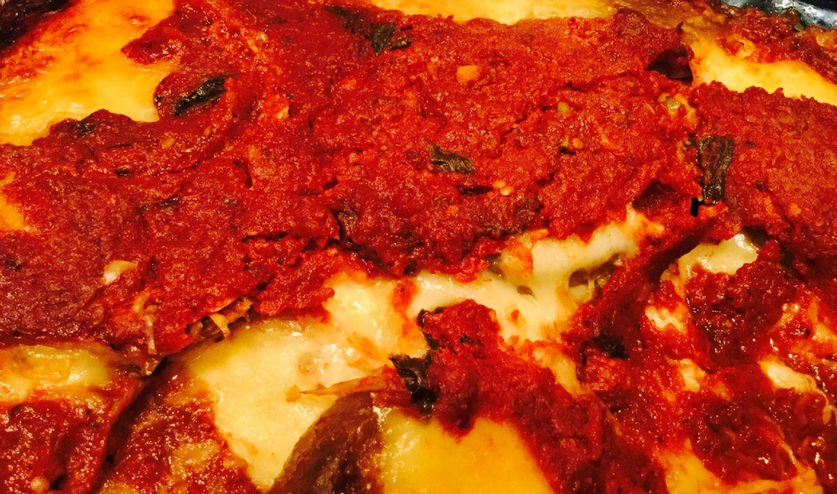 Circle of Surrender Sicilian Low Carb Grain Free Eggplant Parmesan