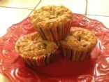 Oatmeal Coconut Chocolate Chip Blondie Cups