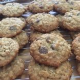 Oatmeal and Milk Chocolate Chip Cookies