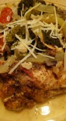 Old Bay Chicken Veggie Casserole