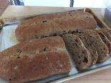 Olive Sourdough Whole Wheat Bread