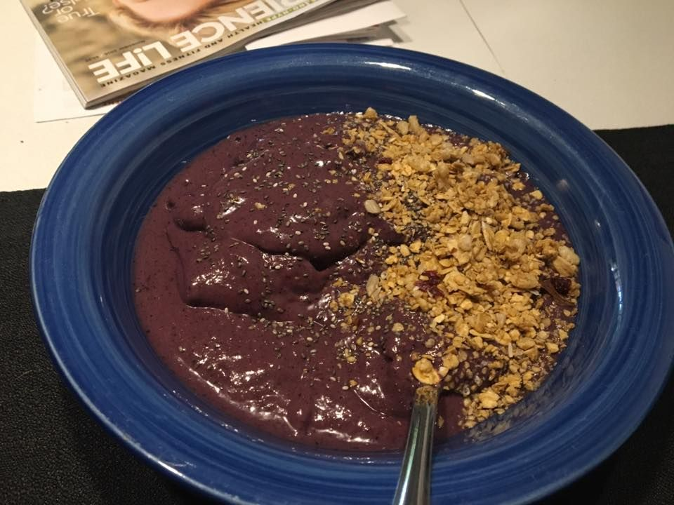 Organic Protein Berry Bowl -
