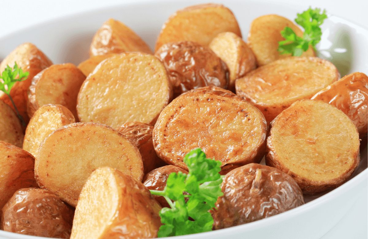 Oven-Roasted Baby Red Potatoes