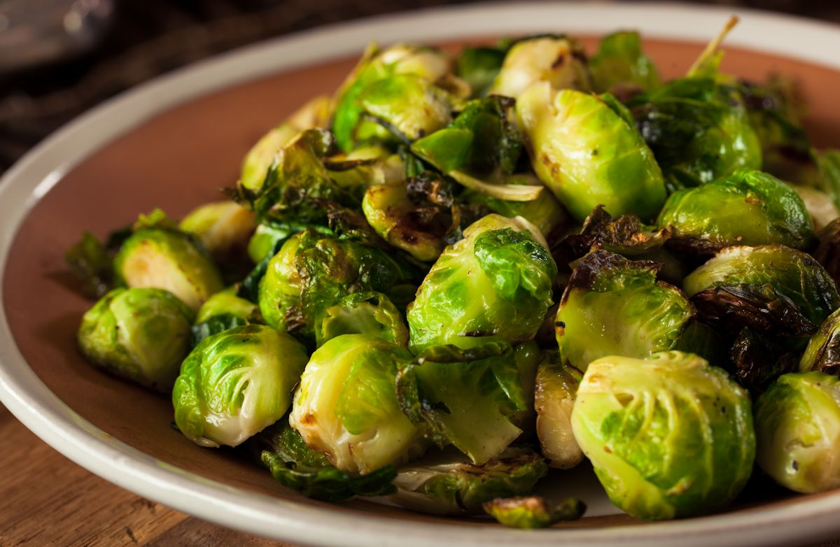 thanksgiving brussel sprouts salad