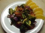 Oven Roasted Vegetables and Polenta