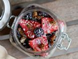 Overnight Coconut Oats with Chia Seeds