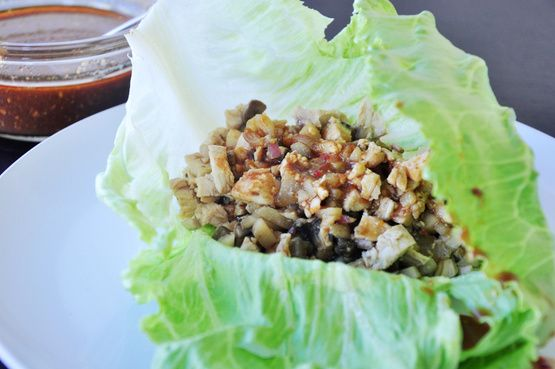 PT Changs Chicken Lettuce Wraps