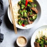 Paleo Low Carb Beef and Broccoli