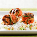 Pampered Chef Asian Grilled Chicken Rolls