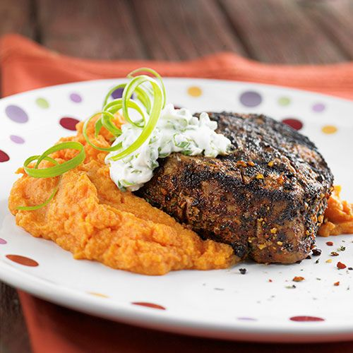Pampered Chef Chipotle-Rubbed Filet