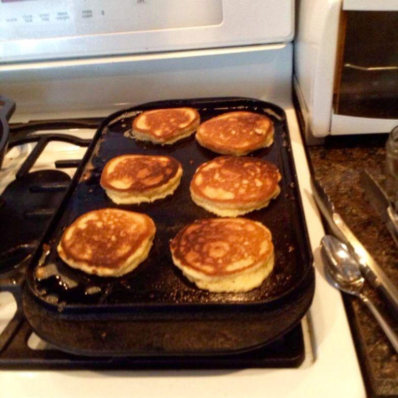 Pancakes with Almond Flour (grain free)