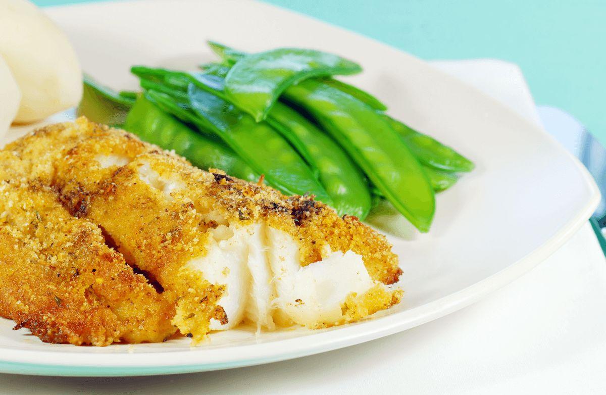 Parmesan-Baked Alaskan Cod