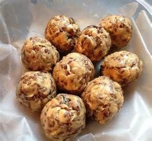Peanut Butter Vanilla Whey Protein Powder Balls