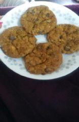 Peanut butter oatmeal chip cookies