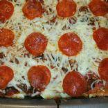 Pepperoni Pizza Pasta Casserole