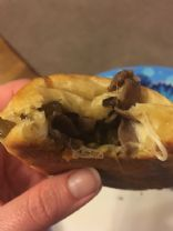 Philly Cheese (Cheater) Piroshki
