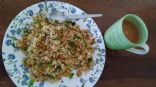 Poha Veggies / Flattened Rice Veggies