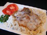 Pork Chops & Rice Mushroom Soup Casserole