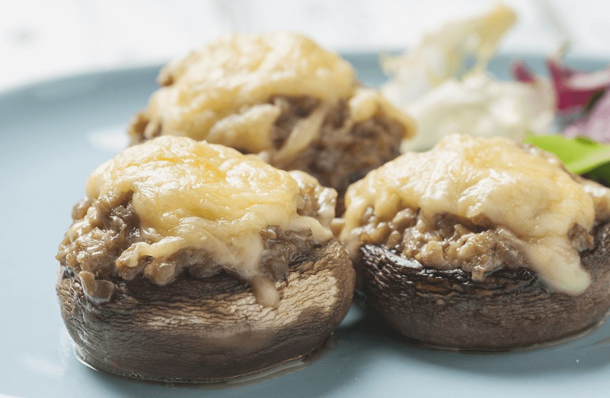 Portobello Mushroom Bake