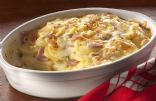 Potatoes and Ham Au Gratin