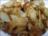 Potatoes and Onion Pan Fried
