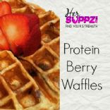 Protein Berry Waffle