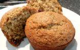 Protein Enriched Honey Bran Muffins