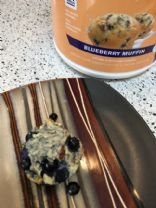 Protein Lemon Blueberry Chia Muffins