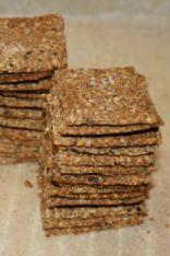 Psyllium crackers