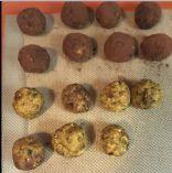 Pumpkin Almond Oat Prune power balls