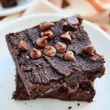 Pumpkin Black Bean Brownies