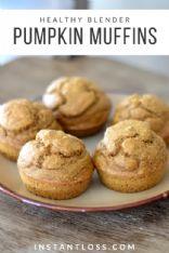 Pumpkin Blender Muffins (instantloss.com)