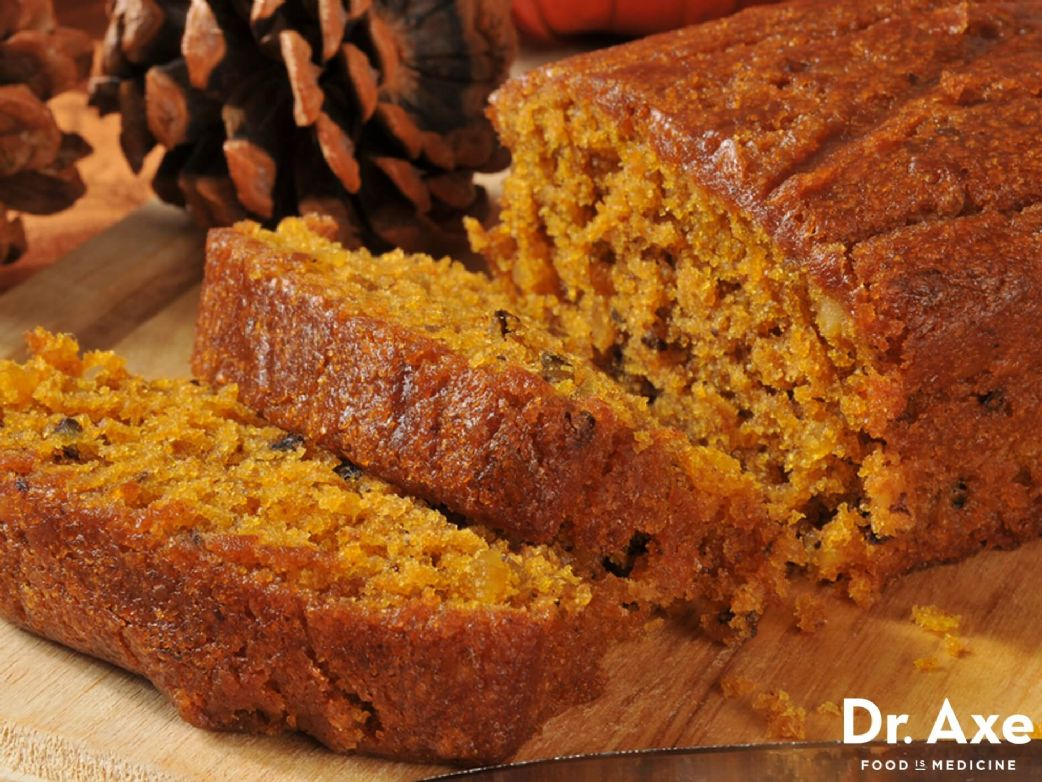 Pumpkin Bread - gluten and sugar free