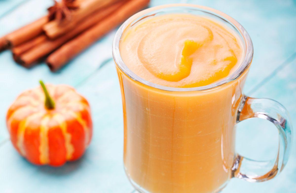 Pumpkin Smoothie (Pumpkin Pie in a Glass)
