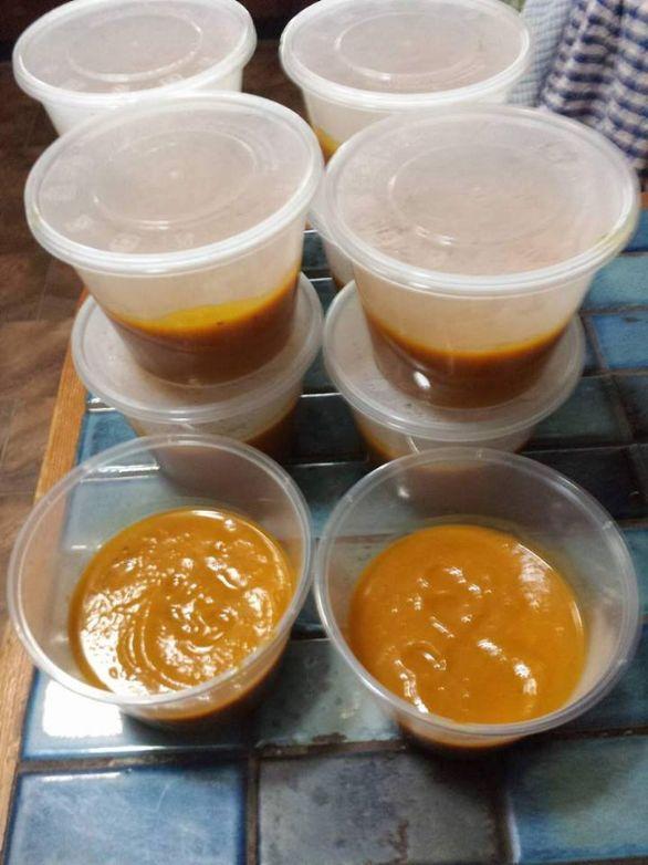 Pumpkin Soup - spicy