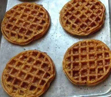 Pumpkin Spice Waffle