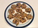 Pumpkin banana oat chocolate chip breakfast cookies