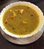 Pumpkin lentils stew
