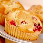 Atkins Pumpkin-Cranberry Muffins