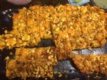 Pumpkinseed, Date and Tahini Bars