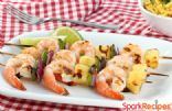 Quick Grilled Shrimp Skewers