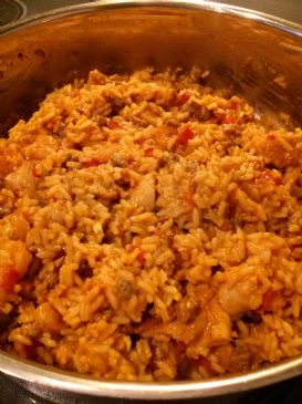 Quick Turkey/Chicken/Shrimp Jambalaya (Vcook)