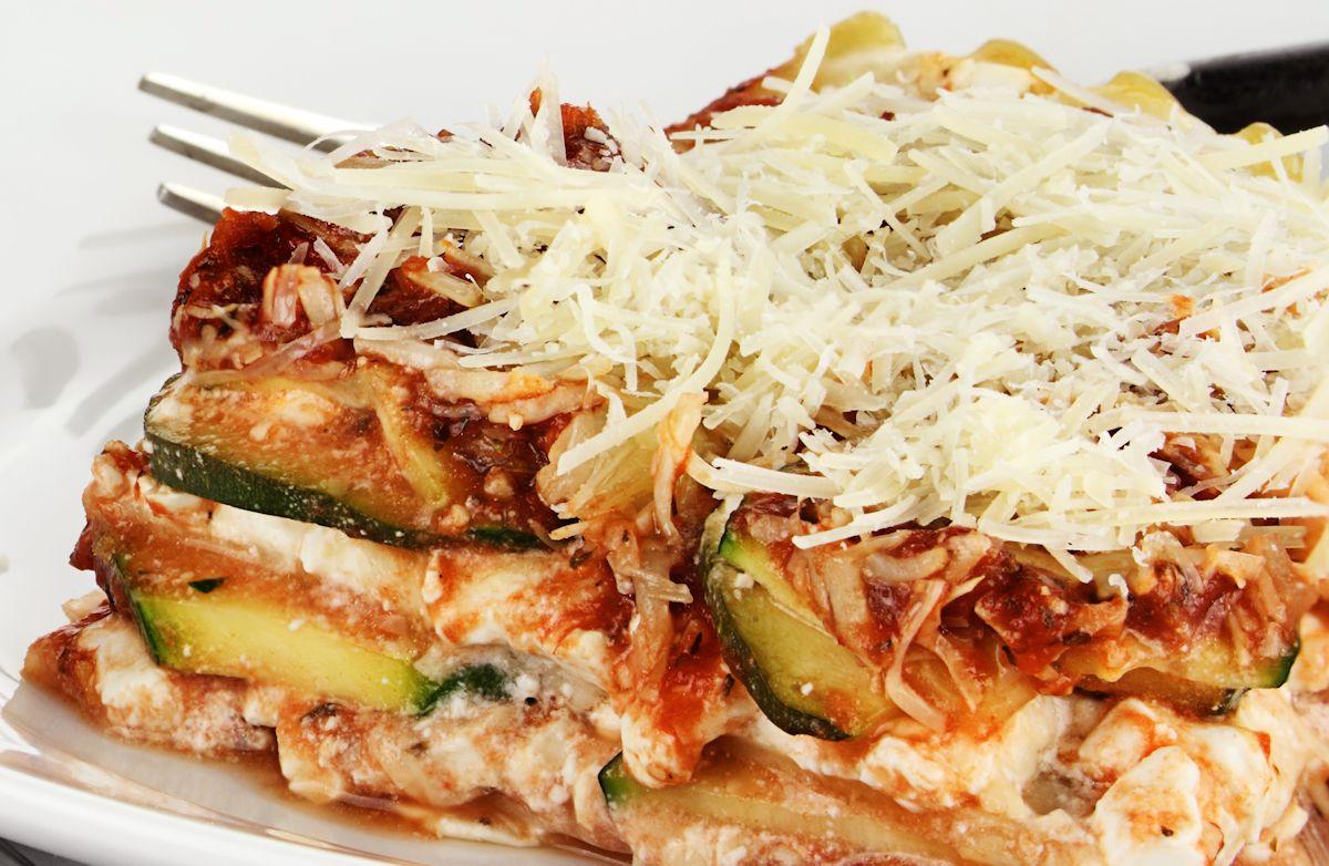Quick Veggie Lasagna