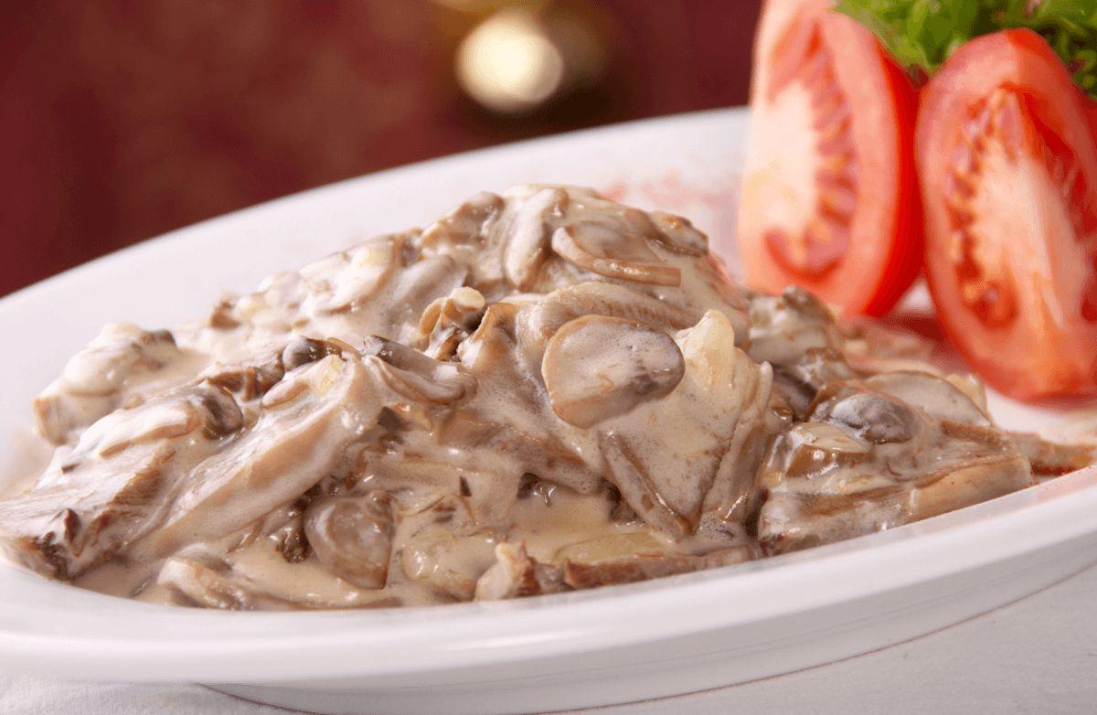 Quick and Easy Creamy Mushroom Chicken
