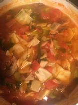 Quick veggie soup