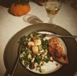 Quinoa Kale Salad with Lemon Ginger Dression